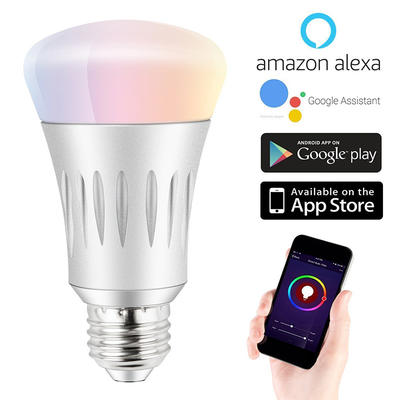 Professional Manufacturer Automatically Pair Device Dimmable Tuya Wi-fi Smart Led Light Bulbs
