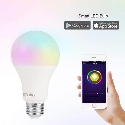 Smart Life Dimmable Wifi LED Bulb 7W 9W 10W E27 B22 RGBW Light Bulb WiFi Smart Bulb