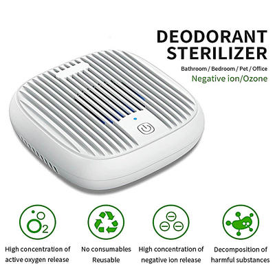 Portable Design Plug In Air Purifier Sterilizer With Ozone Generator 28millions Anion